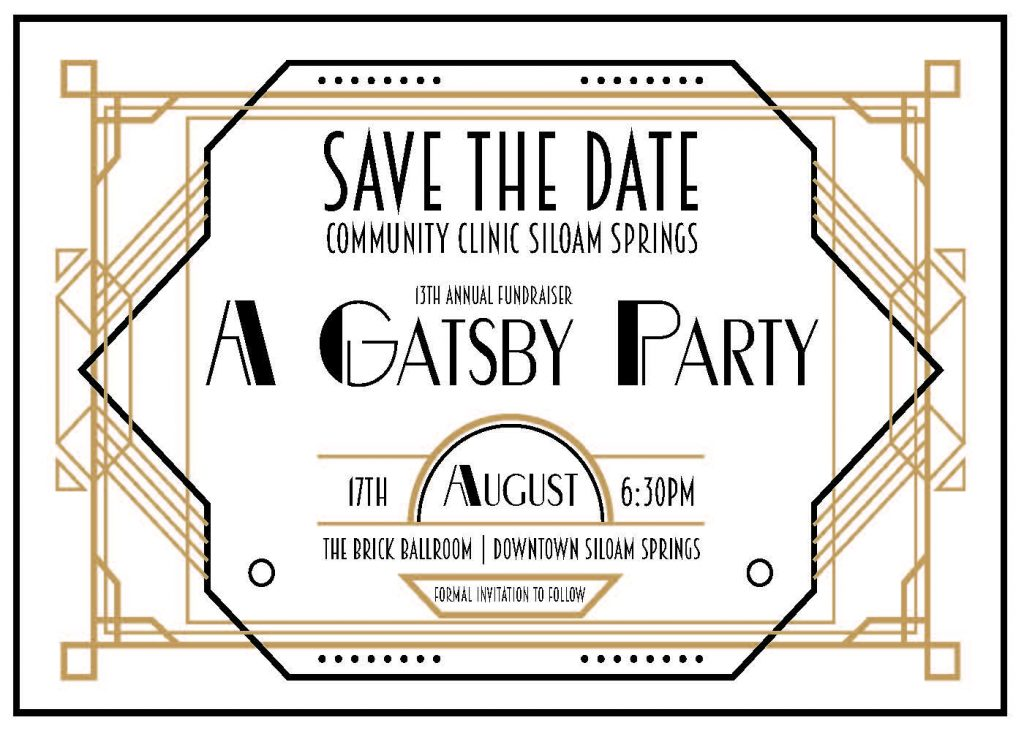 Save The Date A Gatsby Party